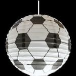BOYS KIDS BEDROOM FOOTBALL LIGHT SHADE